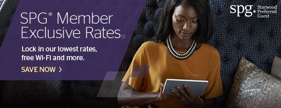 SPG® Member Exclusive Rate