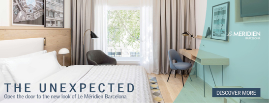 New Room Renovation at Le Méridien Barcelona