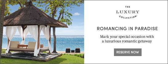 Romantic getaway at The Laguna Bali Resort & Spa