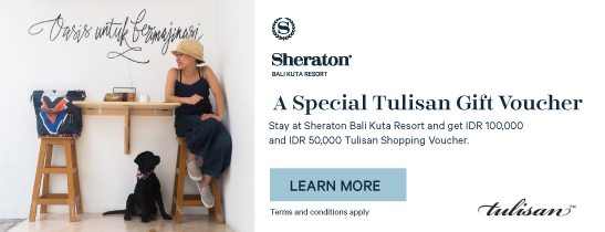 Shopping Voucher - Sheraton Bali Kuta Resort