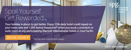 Enjoy THB 1000 daily credit & 1,000 bonus Starpoints® when you book Pool Villa or Pool Villa Suite