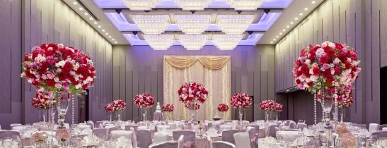 Hold your dream wedding in our Newly Transformed Grand Ballroom.