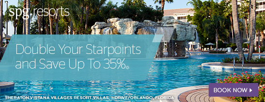 Double Your Starpoints and Save up to 35%