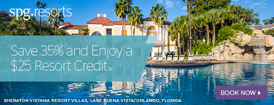 Save 35% and Enjoy a $25 Resort Credit!
