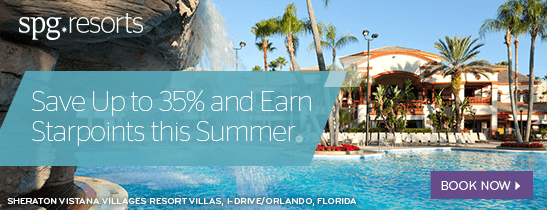 Save Up to 35% and Earn Starpoints This Summer