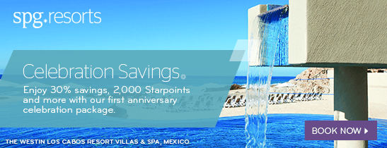 Celebrate with Savings, Starpoints and More