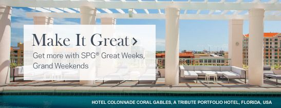 SPG Great Weeks, Grand Weekends